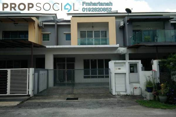 For Sale Terrace at Taman Suria Tropika, Bandar Putra Permai Freehold Unfurnished 4R/3B 680k