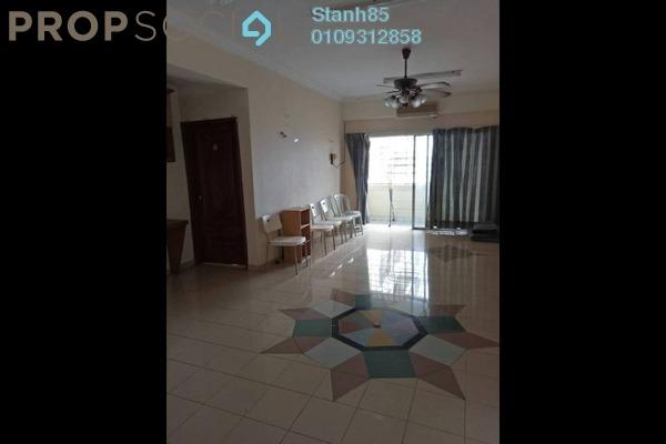 For Rent Condominium at Setapak Ria Condominium, Setapak Freehold Semi Furnished 2R/2B 1.3k
