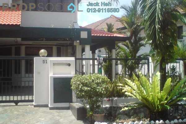 For Rent Terrace at BU12, Bandar Utama Freehold Semi Furnished 3R/3B 2.2k