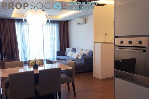 For Sale Condominium at Summer Place, Jelutong Leasehold Fully Furnished 4R/2B 989k