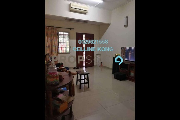 For Sale Terrace at Taman Ehsan, Kepong Leasehold Semi Furnished 3R/2B 618k