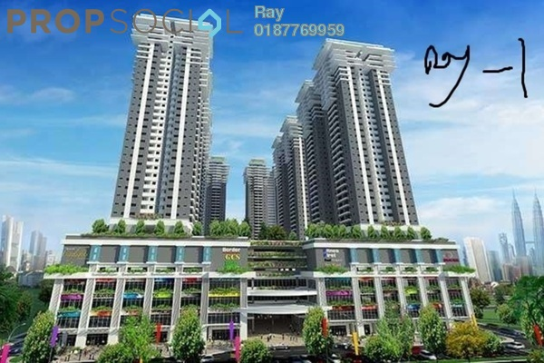 For Sale Condominium at Maxim Citilights, Sentul Leasehold Unfurnished 3R/2B 430k