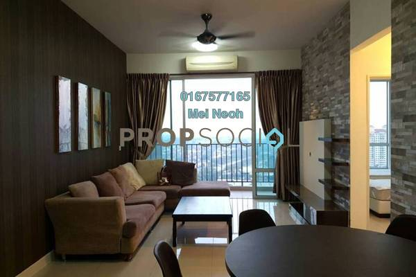 For Rent Apartment at Greenfield Regency, Skudai Freehold Fully Furnished 3R/2B 1.7k