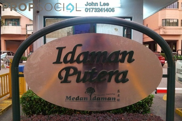 For Rent Condominium at Idaman Putera, Setapak Freehold Fully Furnished 3R/3B 1.9k