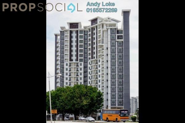 For Rent Apartment at Tunas Residensi, Bayan Baru Freehold Unfurnished 3R/2B 1k