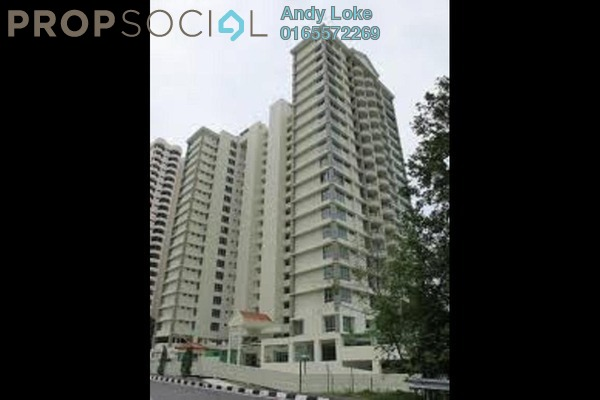 For Rent Condominium at The Waterfront, Tanjung Bungah Freehold Fully Furnished 4R/3B 3k