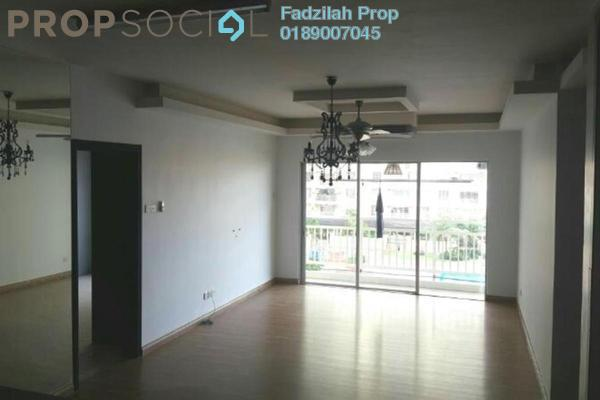 For Rent Condominium at Platinum Lake PV12, Setapak Leasehold Semi Furnished 3R/2B 2k