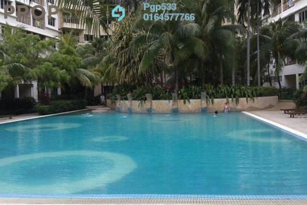 For Rent Apartment at The OceanView, Jelutong Leasehold Semi Furnished 3R/2B 1.3k