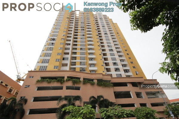 For Rent Condominium at Sri Emas, Pudu Freehold Fully Furnished 3R/2B 2.8k