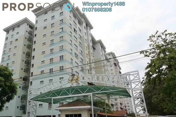 For Sale Apartment at Vista Prima, Puchong Leasehold Semi Furnished 3R/2B 290k