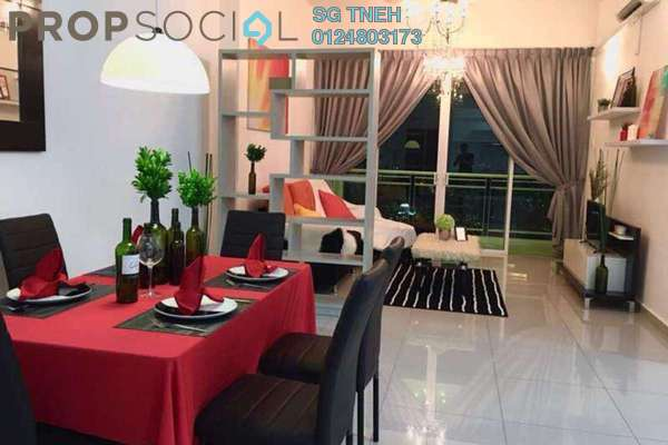 For Rent Condominium at Shineville Park, Farlim Freehold Fully Furnished 4R/2B 1.8k