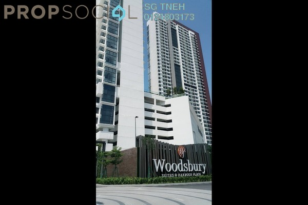 For Rent Condominium at Woodsbury Suites, Butterworth Freehold Unfurnished 1R/2B 1.2k
