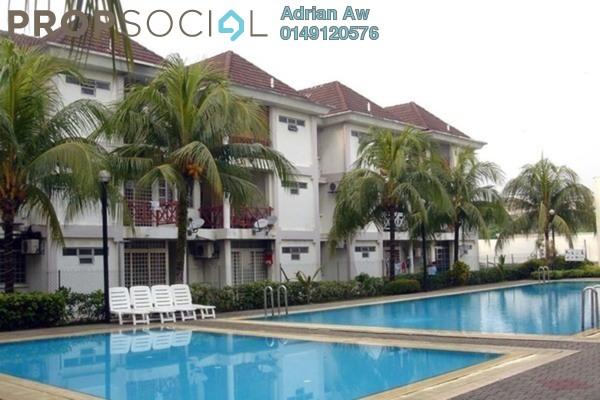 For Rent Condominium at Casa Ria, Cheras Freehold Semi Furnished 3R/2B 1.8k