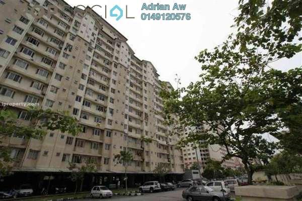 For Rent Condominium at Lestari Apartment, Bandar Sri Permaisuri Leasehold Semi Furnished 3R/2B 1.1k