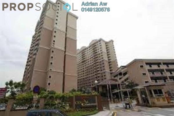 For Rent Condominium at Cengal Condominium, Bandar Sri Permaisuri Leasehold Semi Furnished 3R/2B 1.4k