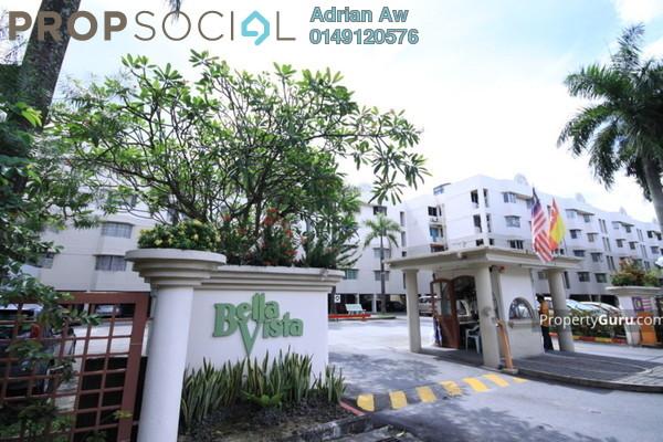 For Rent Condominium at Bella Vista, Ampang Leasehold Semi Furnished 3R/2B 1.2k