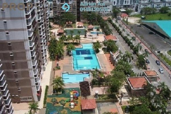 For Rent Condominium at Ampang Boulevard, Ampang Leasehold Semi Furnished 3R/2B 1.8k