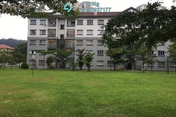 For Rent Apartment at Sri Alpinia, Bandar Puteri Puchong Freehold Semi Furnished 3R/2B 1.1k