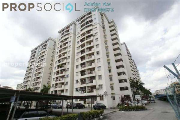 For Rent Condominium at Pandan Court, Pandan Indah Leasehold Semi Furnished 3R/2B 1.25k