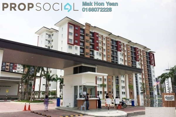 For Sale Apartment at Seri Jati Apartment, Setia Alam Freehold Semi Furnished 3R/2B 280k