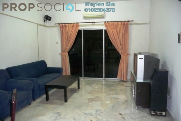 For Rent Condominium at Petaling Indah, Sungai Besi Leasehold Fully Furnished 2R/2B 1.4k