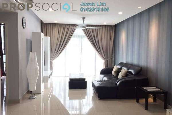 For Sale Condominium at The Z Residence, Bukit Jalil Freehold Fully Furnished 3R/2B 700k