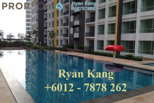 For Sale Apartment at Greenfield Regency, Skudai Freehold Semi Furnished 3R/2B 390k