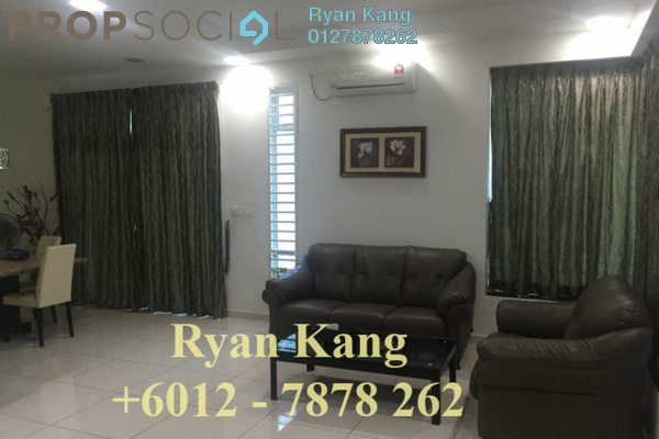 For Rent Semi-Detached at Taman Bukit Indah, Bukit Indah Freehold Fully Furnished 4R/3B 2.8k