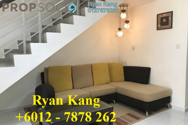 For Rent Terrace at Taman Bukit Indah, Bukit Indah Freehold Fully Furnished 3R/3B 2.1k