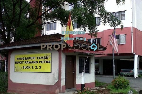 For Rent Apartment at Taman Bukit Rawang Putra Apartment, Rawang Freehold Semi Furnished 3R/1B 500translationmissing:en.pricing.unit