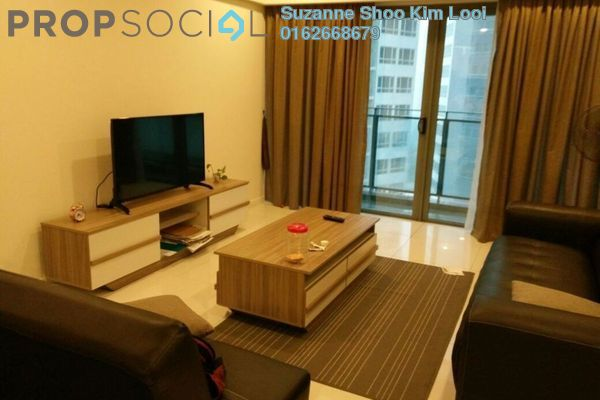 For Rent Condominium at Summer Suites, KLCC Leasehold Fully Furnished 1R/1B 2.8k