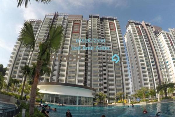 For Rent Condominium at Dwiputra Residences, Putrajaya Freehold Semi Furnished 3R/3B 2k