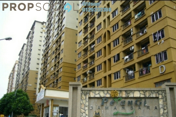 For Sale Condominium at Pelangi Damansara, Bandar Utama Leasehold Unfurnished 3R/2B 440k
