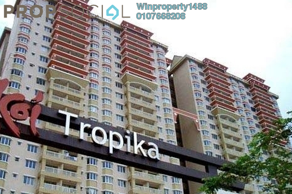 For Rent Condominium at Koi Tropika, Puchong Leasehold Semi Furnished 3R/2B 1.5k