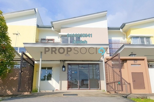 For Sale Terrace at BSC Waterfront, Bandar Seri Coalfields Freehold Semi Furnished 4R/4B 640k