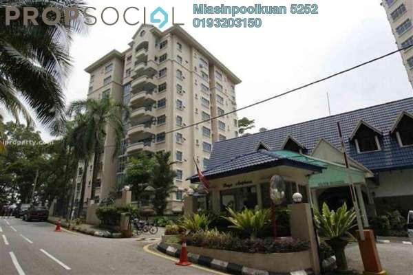 For Rent Condominium at Bayu Angkasa, Iskandar Puteri (Nusajaya) Freehold Fully Furnished 3R/2B 2.6k