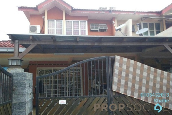 For Sale Terrace at Taman Puchong Prima, Puchong Freehold Semi Furnished 5R/3B 800k