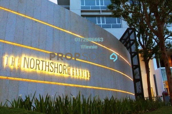 For Sale Condominium at The Northshore Gardens, Desa ParkCity Freehold Fully Furnished 2R/1B 870k