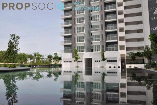 For Rent Condominium at The iResidence, Bandar Mahkota Cheras Freehold Semi Furnished 4R/2B 2.3k
