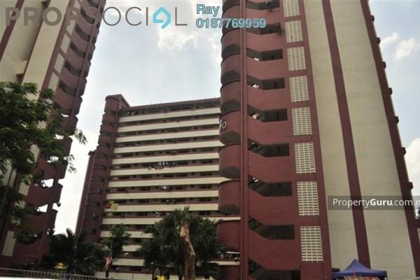 For Rent Condominium at Sri Tioman II, Setapak Freehold Semi Furnished 2R/2B 1.7k