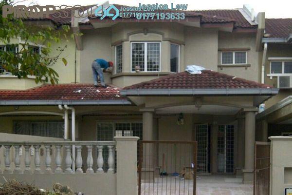 For Sale Terrace at Taman Lestari Perdana, Bandar Putra Permai Leasehold Unfurnished 4R/3B 600k