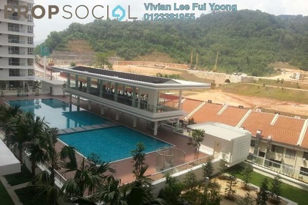 For Sale Condominium at Platinum Hill PV2, Setapak Freehold Semi Furnished 4R/2B 680k