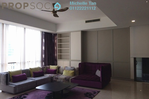 For Rent Condominium at Suria Stonor, KLCC Freehold Fully Furnished 3R/4B 12.5k