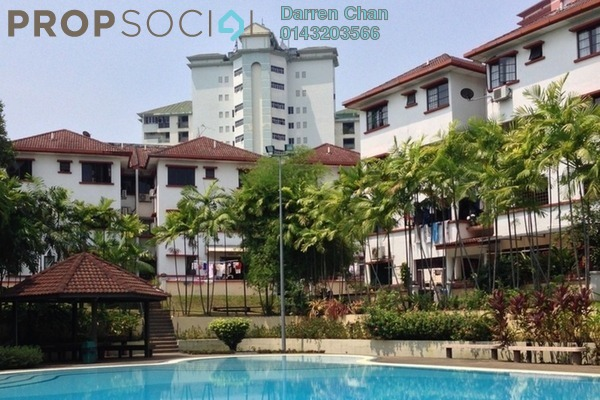 For Rent Condominium at Villa OUG, Old Klang Road Freehold Semi Furnished 3R/2B 1.4k
