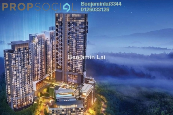 For Sale Serviced Residence at Ion Delemen, Genting Highlands Freehold Fully Furnished 1R/1B 510.0千