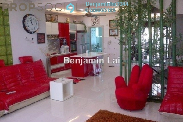 For Sale Terrace at Zenia, Desa ParkCity Freehold Semi Furnished 4R/4B 2.5m