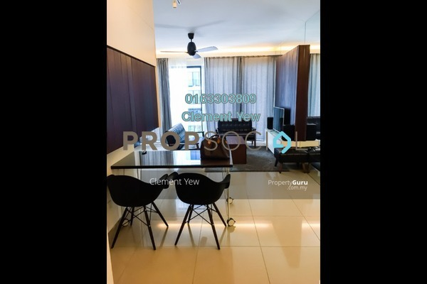 For Rent Serviced Residence at Trefoil, Setia Alam Freehold Fully Furnished 2R/2B 2.4k