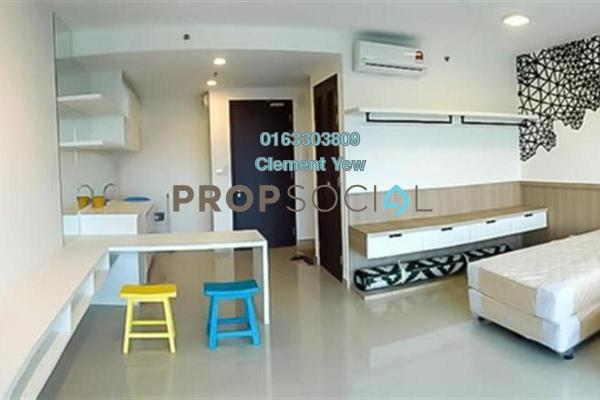 For Rent SoHo/Studio at Trefoil, Setia Alam Freehold Fully Furnished 0R/1B 1.2k