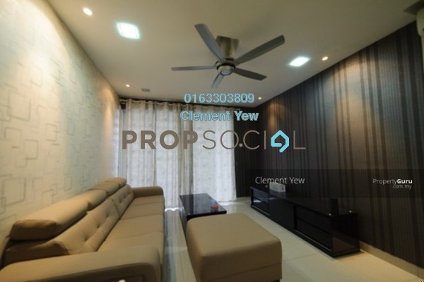 For Sale Condominium at Zen Residence, Puchong Leasehold Fully Furnished 3R/2B 519k