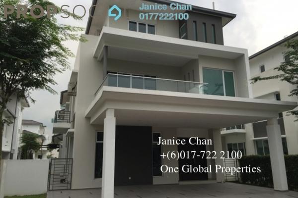 For Rent Bungalow at Impian Senibong, Bandar Baru Permas Jaya Freehold Fully Furnished 5R/5B 5k